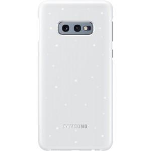 Samsung LED zadný kryt EF-KG970CW pre Galaxy S10e, biele