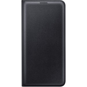 Samsung flipové púzdro EF-WJ710PB pre Galaxy J7 2016 Čierne
