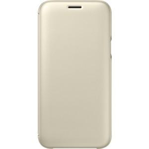 Samsung flipové púzdro EF-WJ530CF pre Galaxy J5 2017, Zlatá