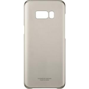 Samsung Clear púzdro EF-QG955CF pre Galaxy S8+ Gold