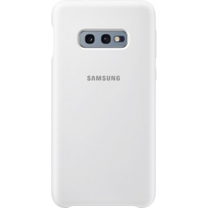 Samsung Silicone Cover EF-PG970TW pre Galaxy S10e, biely