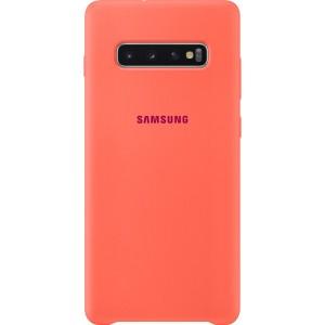Samsung Silicone Cover EF-PG975TH pre Galaxy S10+, ružové