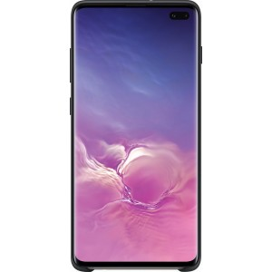 Samsung Silicone Cover EF-PG975TB pre Galaxy S10+, čierne