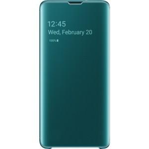 Samsung Clear View púzdro EF-ZG973CG pre Galaxy S10, zelené