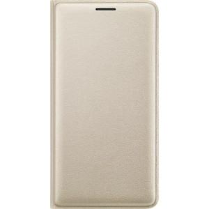 Samsung flipové púzdro EF-WJ320PF pre Galaxy J3, zlatá