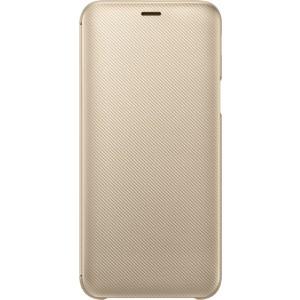 Samsung flipové púzdro EF-WJ600CF pre Samsung Galaxy J6 Zlaté