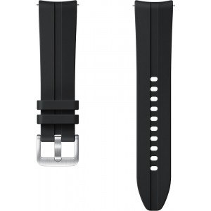 Samsung ET-SFR85SB Ridge Sport Band (20mm, S/M) pre Galaxy Watch3, čierny - otvorené balenie