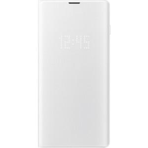 Samsung LED View púzdro EF-NG975PW pre Galaxy S10+, biele