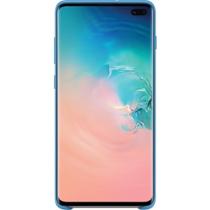 Samsung Silicone Cover EF-PG975TL pre Galaxy S10+, modré