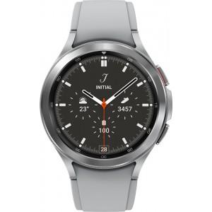 Samsung Galaxy Watch4 46mm Classic, strieborné