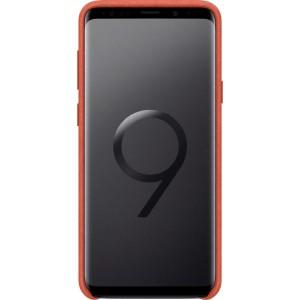 Samsung Alcantara púzdro EF-XG965AR pre Galaxy S9+ Červené