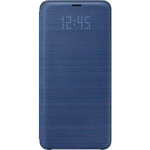 Samsung LED flipové púzdro EF-NG965PL pre Galaxy S9+ Modré