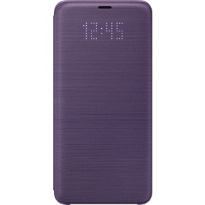 Samsung LED flipové púzdro EF-NG965PV pre Galaxy S9+ Fialové