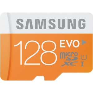 Samsung micro SDHC 128GB Class 10 EVO+ NEW s SD adaptérom