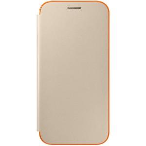 Samsung flipové púzdro EF-FA520PF pre Samsung Galaxy A5 (2017) Zlaté