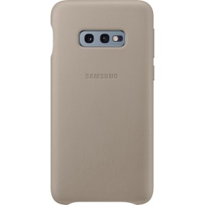 Samsung kožený kryt EF-VG970LJ pre Galaxy S10e, šedý
