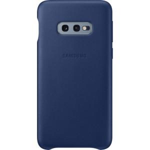 Samsung kožený kryt EF-VG970LN pre Galaxy S10, tmavomodrý