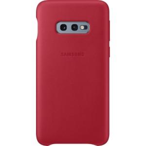 Samsung kožený kryt EF-VG970LR pre Galaxy S10e, červený