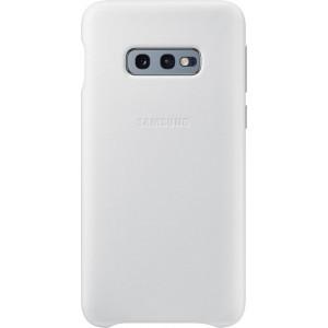 Samsung kožený kryt EF-VG970LW pre Galaxy S10e, biely