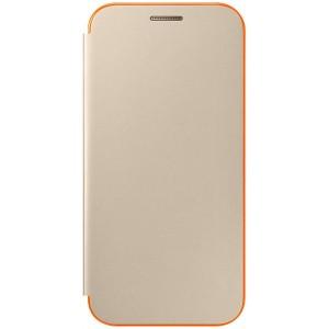 Samsung flipové púzdro EF-FA320PF pre Samsung Galaxy A3 (2017) Zlatý