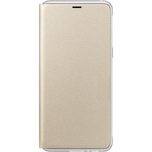 Samsung flipové púzdro EF-FA530PF pre Samsung Galaxy A8 2018 Zlaté