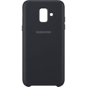 Samsung dvojvrstvový zadný ochranný kryt EF-PA600CB pre Samsung Galaxy A6 Čierny