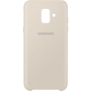 Samsung dvojvrstvový zadný ochranný kryt EF-PA600CF pre Samsung Galaxy A6 Zlatý