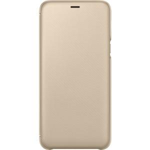 Samsung flipové púzdro EF-WA605CF pre Samsung Galaxy A6+ Zlaté