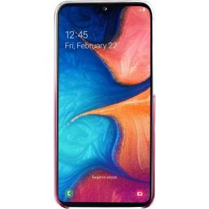 Samsung ochranne púzdro EF-AA202CP pre Galaxy A20, ružové