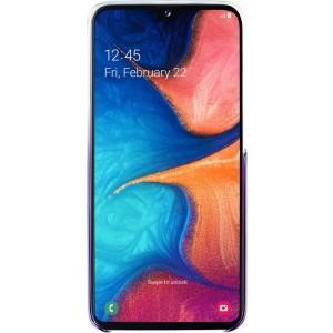 Samsung ochranne púzdro EF-AA202CV pre Galaxy A20, fialové