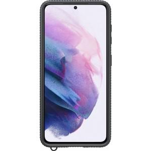 Samsung priehľadný ochranný kryt EF-GG991CBE pre S21, čierne