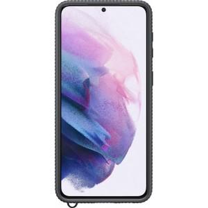 Samsung priehľadný ochranný kryt EF-GG996CBE pre S21+, čierne