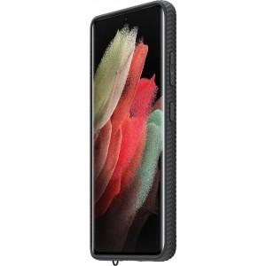 Samsung priehľadný ochranný kryt EF-GG998CBE pre S21Ultra, čierne