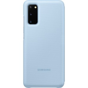 Samsung EF-NG980PL LED View cover pre Galaxy S20, modré