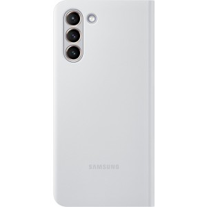 Samsung flipové puzdro LED View EF-NG991PJE pre S21, šedé