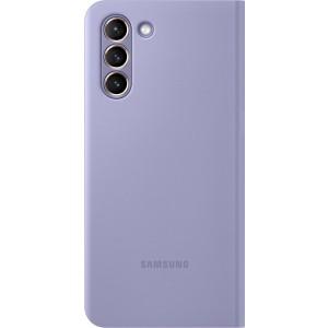Samsung flipové puzdro LED View EF-NG991PVE pre S21, fialové