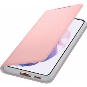 Samsung flipové puzdro LED View EF-NG991PPE pre S21, ružové