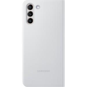 Samsung flipové puzdro LED View EF-NG996PJE pre S21+, šedé