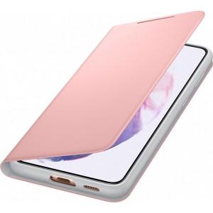 Samsung flipové puzdro LED ViewEF-NG996PPE pre S21+, ružové