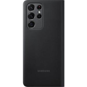 Samsung flipové puzdro LED View EF-NG998PBE pre S21Ultra, čierne