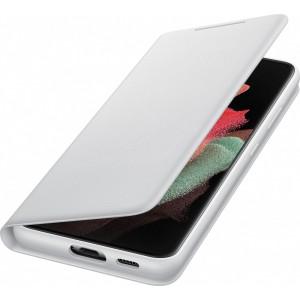 Samsung flipové puzdro LED View EF-NG998PJE pre S21Ultra, šedé