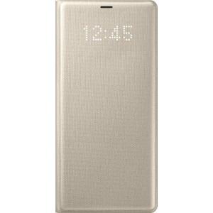 Samsung LED flipové púzdro EF-NN950PF pre Galaxy Note8  Gold