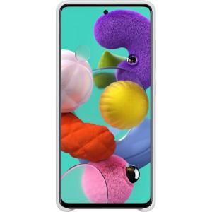Silikónové púzdro pre Galaxy A51, biele