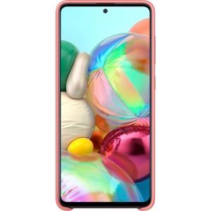 Silikónové púzdro pre Galaxy A71, ružové