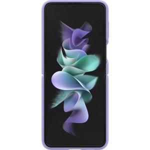 Samsung silikónový kryt s držiakom na prst pre Z Flip3, fialový