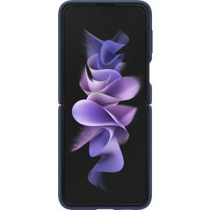 Samsung silikónový kryt s držiakom na prst pre Z Flip3, modrý