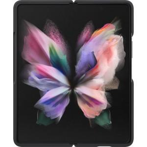 Samsung silikónový zadný kryt pre Z Fold3, čierny