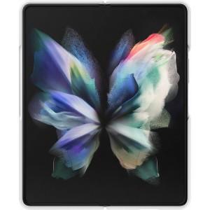 Samsung silikónový zadný kryt pre Z Fold3, biely