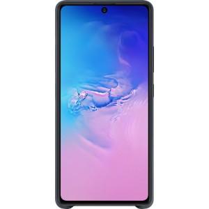 Silicone Cover pre Galaxy S10 Lite, čierne