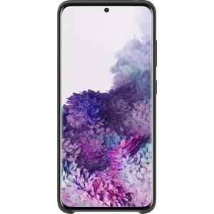 Samsung EF-PG980TB Silicone Cover pre Galaxy S20, čierne